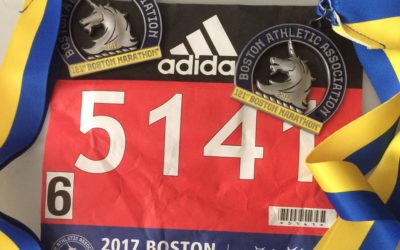 17/04/2017, Marathon de Boston, 42,2 km