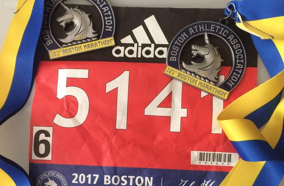 17/04/2017, Marathon de Boston, 42,2 km