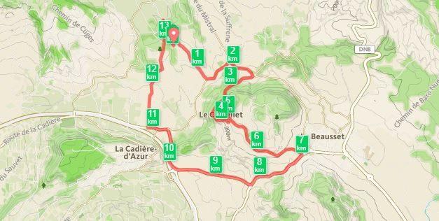 06/07/2016, Le Castellet, 14 km