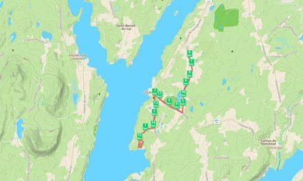 07/08/2017, Georgeville, 15km