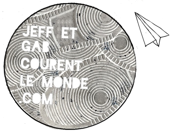 Jeff et Gab courent le monde