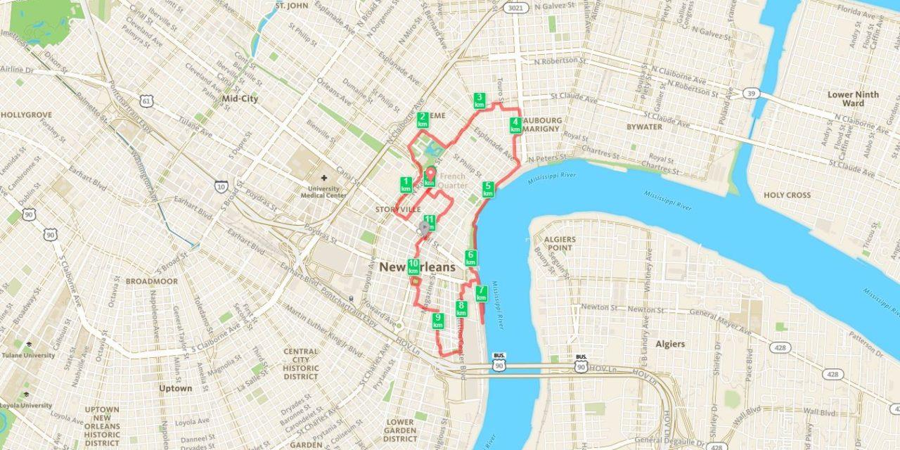 17/08/2014, Nouvelle Orléans, 12km
