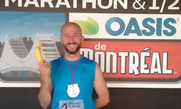 Mon marathon à moi