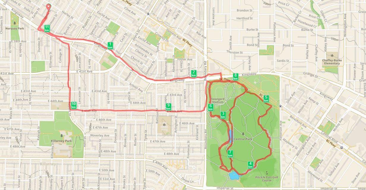 2017/10/19, Vancouver, 11km