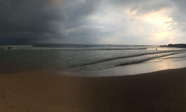 A la playa au Sri Lanka